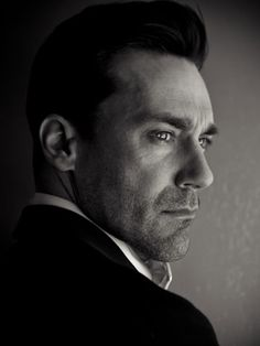 Jon Hamm: The ULTIMATE Mid-Century LUST item...he can pass out on my orange sectional any day!