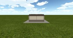 Cool 3D #marketing http://ift.tt/2uM4b9A #barn #workshop #greenhouse #garage #roofing #DIY