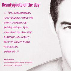 Beautyquote van Kevyn Aucoin op www.makeupmymind.nl