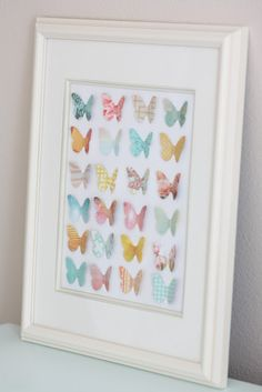 Buy large paper shape stamp(symmetrical) and many types of scrapbook paper.