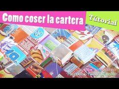 Bolsita reciclada // RECICLANDO REVISTAS - YouTube