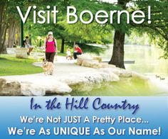 Visit Boerne! My adopted city, come enjoy!