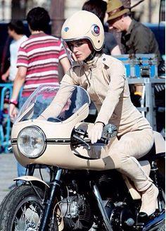 Cafe racer Kiera knightly