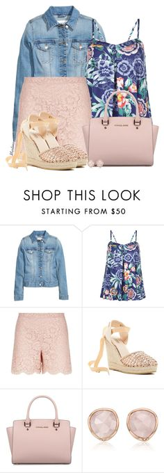 """Bez naslova #2616"" by martina-cciv ❤ liked on Polyvore featuring Monsoon, Valentino, Catherine Catherine Malandrino, Michael Kors and Monica Vinader"