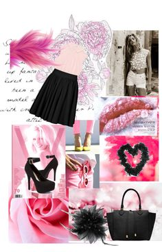 """""""soft Rose :*"""" by miriam-muffin15 ❤ liked on Polyvore"""