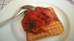 Tomato full of ragù!!! :D