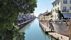 Sempre sul naviglio ma questa volta a #Milano con la foto di Pino Branca.
