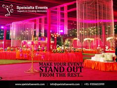 """""""Decorating golden rule: Live with what you love."""" #speisialtaevents # events #decor #decoration #weddingplanner #evenorganizer Visit Our Website: www.speisialtaevents.com For Booking Call:+91-9350655999, +91-9350455999"""