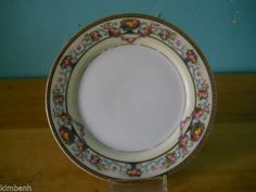 """Estate Find! Antique Thomas China Bavaria Briarcliff Bread & Butter Plate 6"""" #THOMAS"""