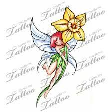 vivid daffodil tattoo reversed flower2 2533 tattoos that i love. Black Bedroom Furniture Sets. Home Design Ideas