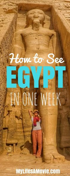 See Egypt in a Week for Cheap Check out this awesome itinerary of all the best highlights of Egypt that you can see in just a week!Check out this awesome itinerary of all the best highlights of Egypt that you can see in just a week! Packing Tips For Travel, Travel Goals, Budget Travel, Travel Ideas, Packing Hacks, Cheap Travel, Travel Hacks, Travelling Tips, Cool Places To Visit