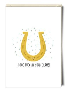 Good Luck in your Exams! - Card by Leeann Walker