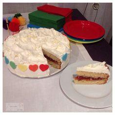 Pastel de Yogur y Buttercream de Vainilla