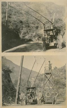 Los Angeles trackless trolley -- in Laurel Canyon, early C. California History, Vintage California, Southern California, San Fernando Valley, Laurel Canyon, Sunset Strip, Hollywood Sign, City Of Angels, Los Angeles California