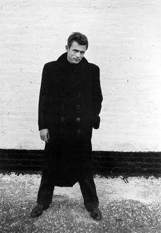 James Dean , fotografiado por Dennis Stock