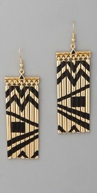 I would def rock these African Earings