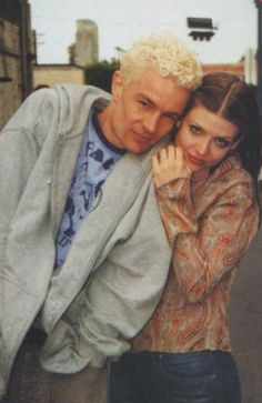 James Marsters and Amber Benson - Cast of Buffy