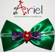 Best site for bows for every disney character. God help us if I ever have a little girl