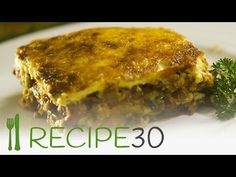 Vegetarian Moussaka – Easy Meals with Video Recipes by Chef Joel Mielle – Why Vegetarian, Vegetarian Main Dishes, Vegetarian Recipes, Cooking Recipes, Healthy Recipes, Easy Recipes, Healthy Food, Healthy Eating, Mediterranean Eggplant Recipe