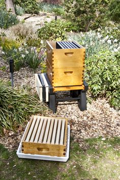 Ultimate Hive Stand & Ultimate Hive Cover by BeeSmartDesigns.com. Head to our website to check out all our products and local vendors! 🐝🐝🐝🐝🐝 #bee #bees #beekeeper #beekeeping #beekeep #apiary #apiaries #englishgarden #garden #hivestand #hives #hive #hivecover #cover #queen #queenbee