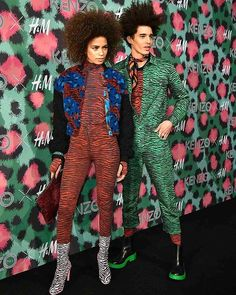 About last night at #Kenzoxhm party with @miss_ana_sofia !  Check all pics on my blog ( link on bio)☇ #expressyourself