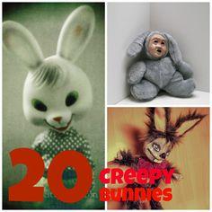 20 Totally Creepy, Odd and Eerie Easter Bunnies (Photos)