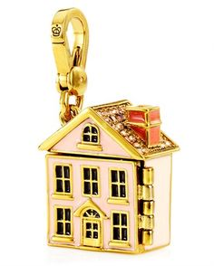 Juicy ~ HOME SWEET HOME CHARM...it opens and has a home scene inside.