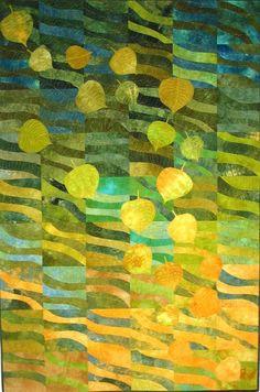 Losses by Elaine Quehl Art Quilt