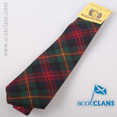 Logan Modern Tartan Tie. Free worldwide shipping available