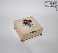 Exclusive box, box, boxes, wood, for jewelry (wooden box)