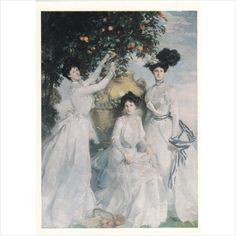 Colour Postcard -The Acheson Sisters, by John Singer Sargent on eBid United Kingdom