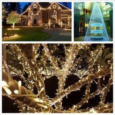 Led String Honest Sanyi 10m 100 Led Garland String Lights 8 Modes Led Fairy Light For New Year Christmas Festival Party Wedding Home Decoration Led Lighting