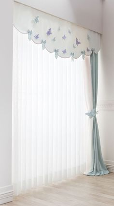 bebek-odasi-perde-detay dekoration 17 Window Treatment Ideas for Every Room in Your Home Kids Room Curtains, Home Curtains, Living Room Decor Curtains, Baby Room Decor, Bedroom Decor, Room Baby, Window Curtain Designs, Rideaux Design, Curtain Headings
