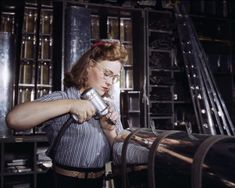Female workers in America during WWII