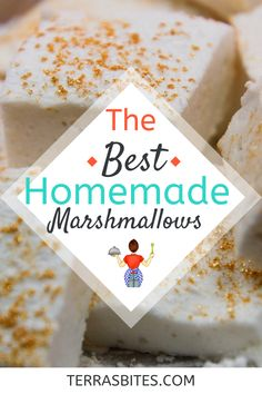 Making homemade marshmallows is easier than you think, and I think they taste better than anything you could possibly buy. They're easily customizable, and I've made cherry, peppermint, orange, and more. Give them a shot today!