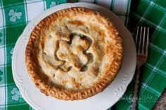 Chicken Pot Pie for St. Patrick's Day
