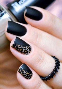 Get to know how to paint Leopard Nail Art designs! Leopard prints are a trend nowadays. From clothes to shoes to bags and even to nail art designs, they Leopard Nail Art, Leopard Print Nails, Black Nail Art, Leopard Prints, Animal Prints, Black Polish, Leopard Spots, Pink Leopard, Hair And Nails