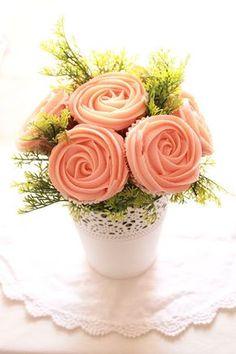 MAKE MY CAKE (El Laboratorio): Bouquet de cupcakes