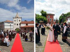 Tul y Flores · Inspiración para tu boda: Boda mexicano + madrileña en Asturias por Cecilia A.H.Arias