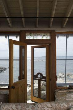 Maine. seaside.