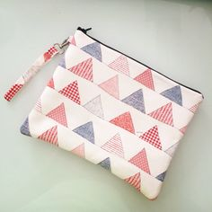 Pochette , clutch retro in ecopelle