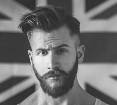 Cool Short Hair Styles with Shaved Hair and Beard - Latest Hair Styles - Cute & Modern Hairstyles For Men & Women Side Part Hairstyles, Modern Hairstyles, Hairstyles Haircuts, Cool Hairstyles, Shaved Hairstyles, Japanese Hairstyles, Asian Hairstyles, Hair Styles 2014, Short Hair Styles