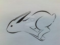 Bunny Tattoo (Happy easter version x3) by ~Lillyth-Kitten on deviantART