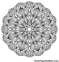 Mandala Coloring Page 50