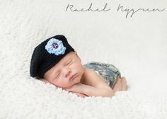 Newborn // Military // Patriotic // Army Rachel Nygren Photography