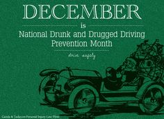 December is National Drunk and Drugged Driving Prevention Month #druggeddriving #drunkdriving #december #preventionmonth #awareness