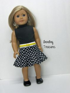 18 inch doll clothes AG doll clothes girl by Unendingtreasures
