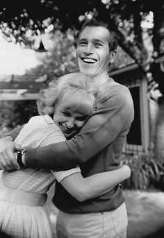 Paul Newman and Joanne Woodward, 1963.