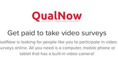 QualNow: check out this new video survey site.