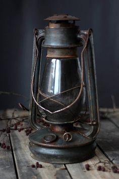Old Kerosene Lanterns | Old kerosene lantern by vintageitscool on Etsy